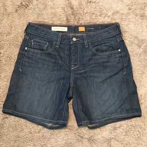 Anthropologie Pilcro Roll Up Shorts